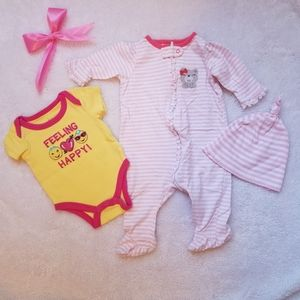 baby clothes from 0 -3 months. baby fox